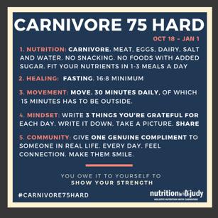 Carnivore 75 hard
