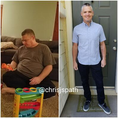 Chris Spath carnivore meat heals weight loss wife couple keto diet