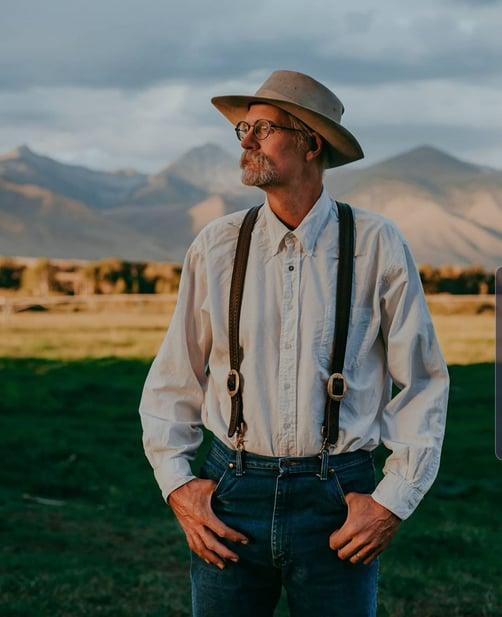Glenn Elzinga Alderspring Ranch Carnivore Grassfed Rancher Beef
