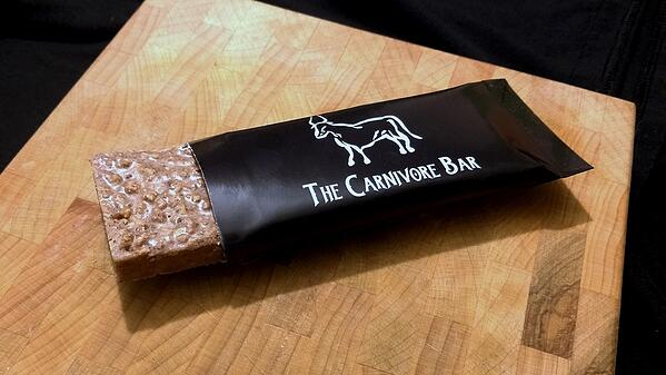 The Carnivore Bar High Fat Meat Zero Carb Pemmican
